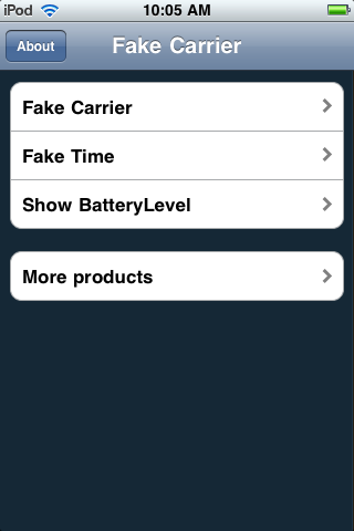 fake carrier
