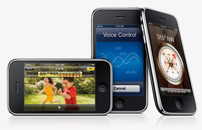 The iPhone 3GS in all its Glory