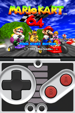 n64iPhone emulator