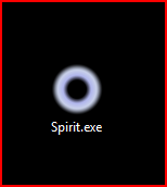 Double click the Spirit.exe to launch the program