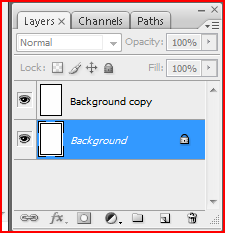You should now have two layers in the Layers Tab