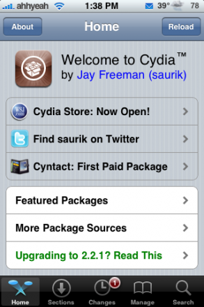 rock vs cydia