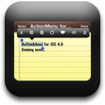 Action Menu Will Be Released For The iOS4 Firmware Very Soon!