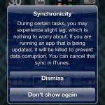Synchronicity Tweak