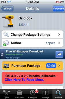 GridLock Cydia Tweak Now Released: Position SpringBoard Icons Anywhere On iPhone And iPod Touch