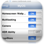 MyOS – Enable or Disable iOS Features