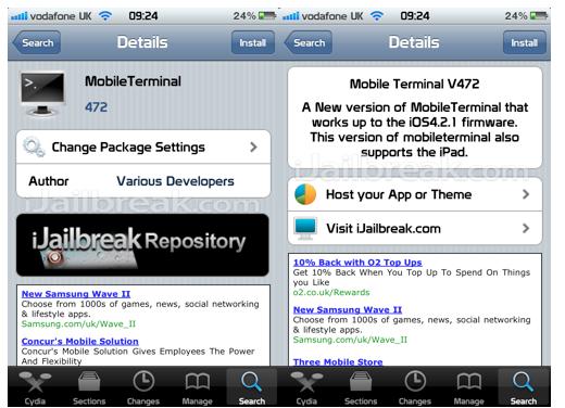 iJailbreak Cydia Repository