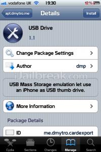 USB Drive Cydia App Turns iPhone, iPad, iPod Into USB Drive