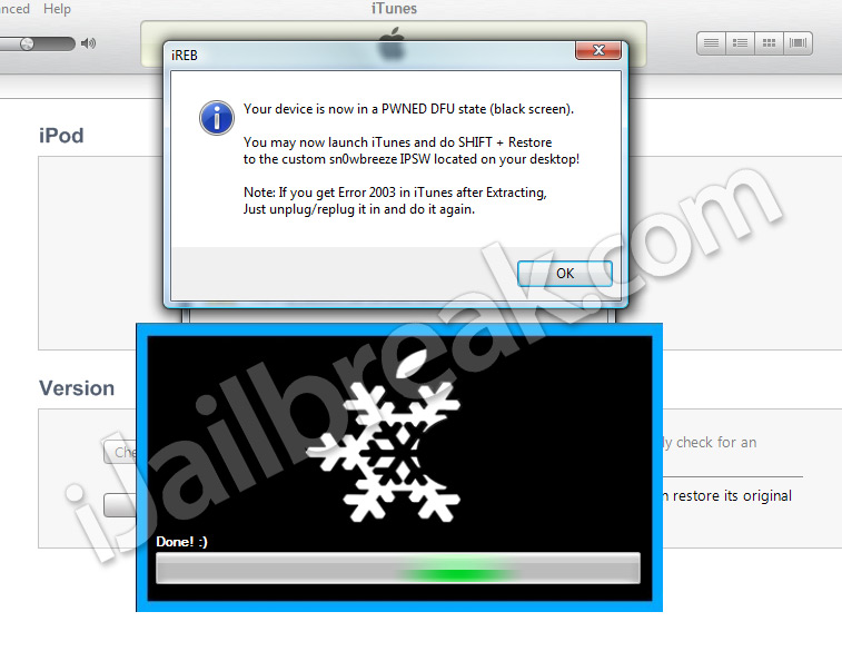 How To Jailbreak iOS 6.x Untethered Sn0wbreeze v2.9.8