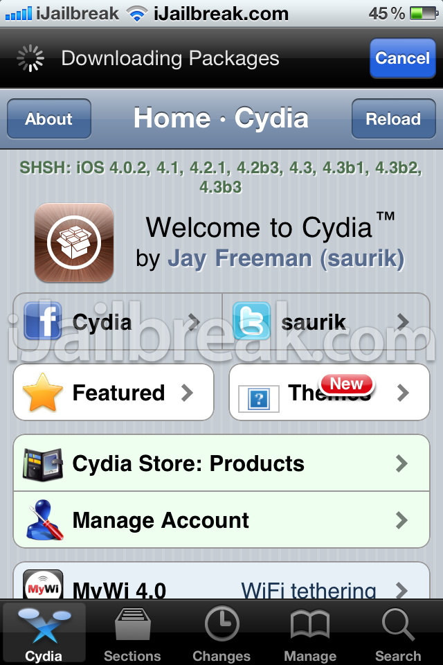 installupgrade to cydia 1.1 on the iPhone and iPod touch