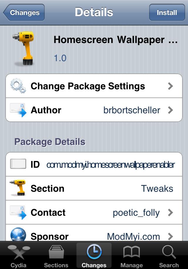 homescreen wallpaper iconnotifier flipover and swipenav