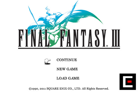 Final Fantasy III App