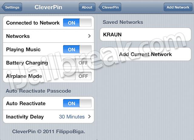 CleverPin Cydia Tweak iJailbreak