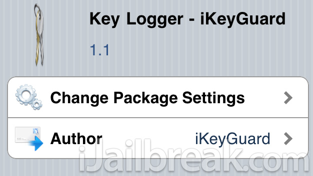 iKeyGuard Tweak: KeyLogger For iPhone, iPad, iPod Touch [Cydia]