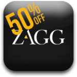 50% Off ZAGG InvisibleSHIELDs And ZAGGskins For The Next 30 Minutes