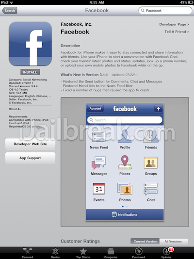 how to delete facebook email addresses from iphone