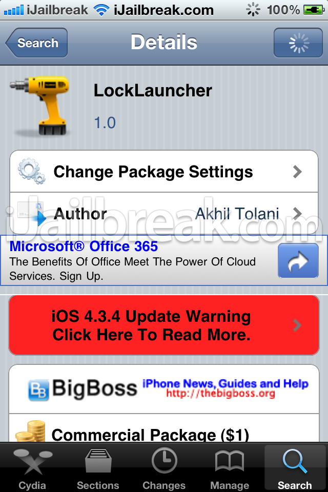 LockLauncher Cydia Tweak iJailbreak