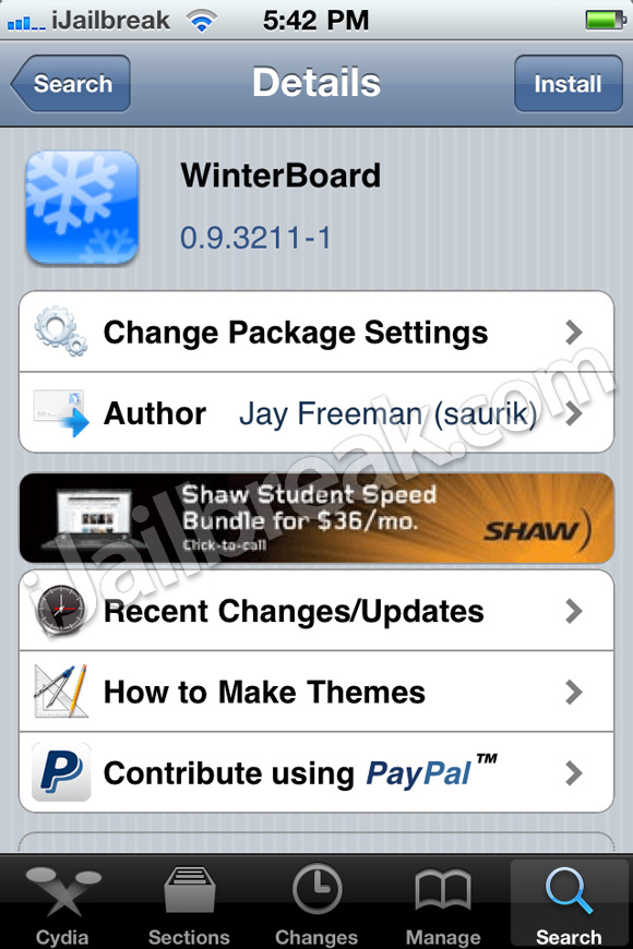 how to disable winterboard