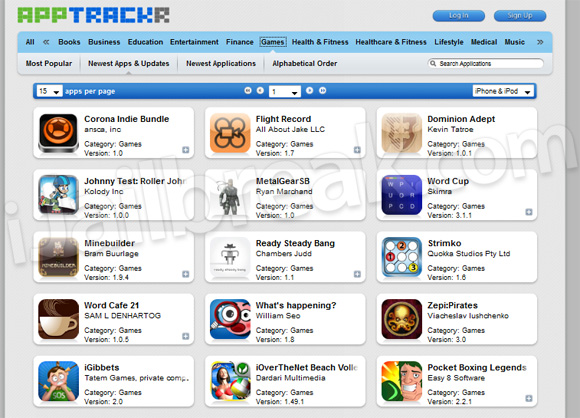 Apptrackr org - FREE Cracked AppStore Apps For iPhone, iPad