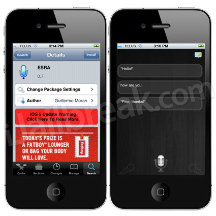 ESRA Cydia Tweak