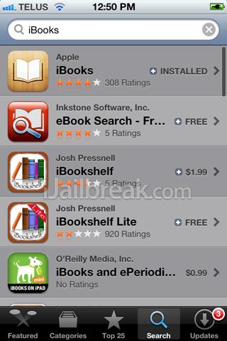 Fix iBooks Crashing Error iOS 5 0 1 Untethered Jailbreak