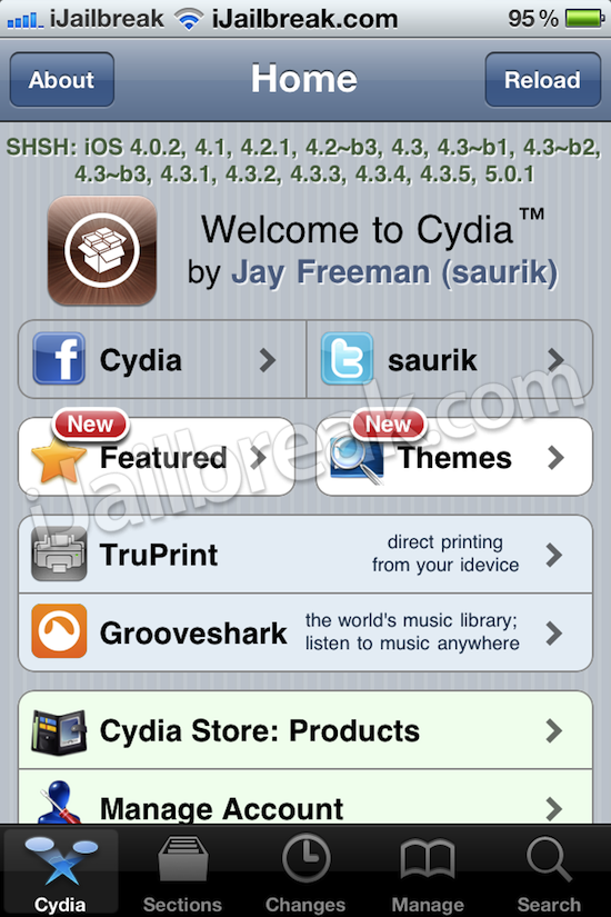 ios 5.0.1 shsh blobs cydia ijailbreak Install the Spire to iPhone 3Gs, iPhone 4, iPod Touch, iPad