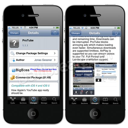 ProTube For iPhone And iPad Is A YouTube app Alternative