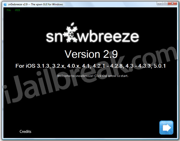 Sn0wbreeze v2.9 windows