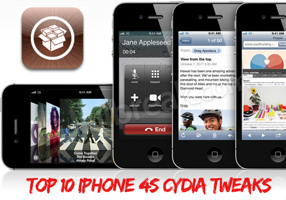 Top 10 iPhone 4S Cydia Tweaks