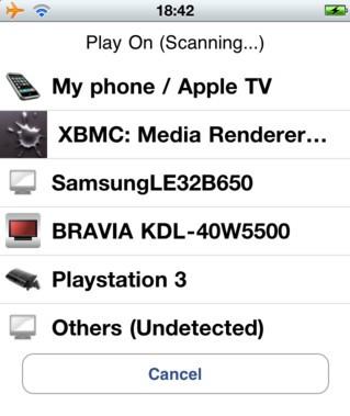 iMediaShare: Stream Media From iPhone, iPad To PS3, Xbox 360