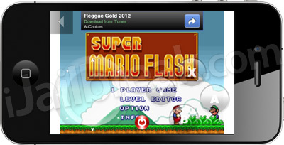 Flash Games On iPhone