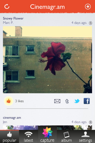 Cinemagram App Review