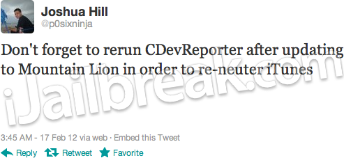 Mountain Lion Chronic-Dev Crash Reporter