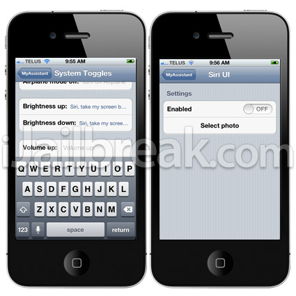 MyAssistant Cydia Tweak Review