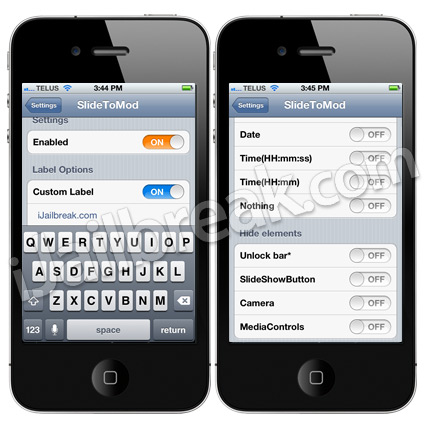 SlideToMod Cydia Tweak