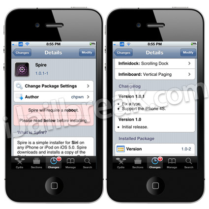 Spire Cydia Tweak 1.0.1-1
