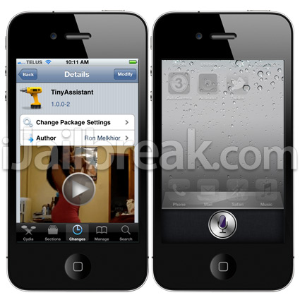 TinyAssistant Cydia Tweak