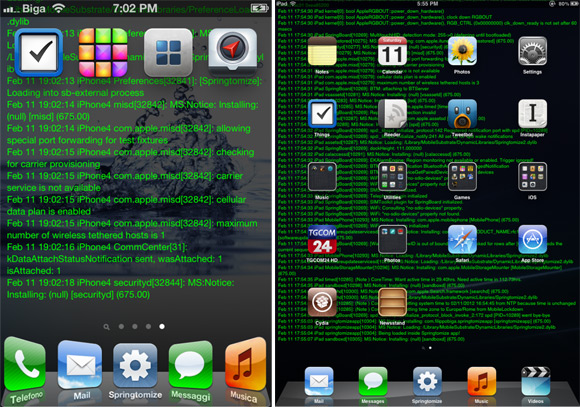 WallpaperLog Cydia Tweak
