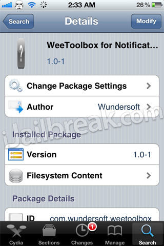 WeeToolbox Cydia Tweak Review