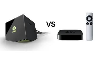 Apple TV vs. Boxee vs. Google TV vs. Roku