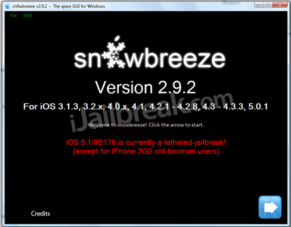 Sn0wbreeze v2.9.2 Download