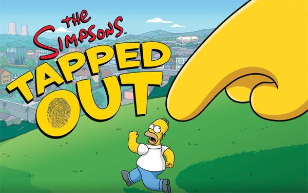The Simpsons: Tapped Out Logo