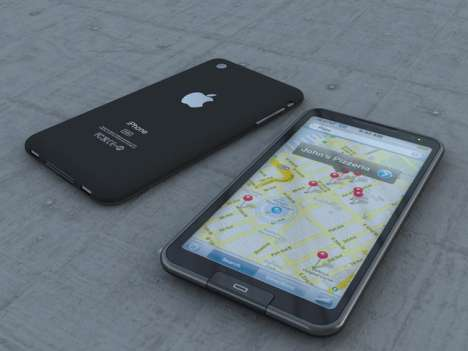 Apple's New iPhone (iPhone 5) Will Feature A 4.6-Inch Display