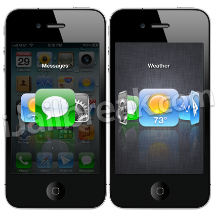 Aero Cydia Tweak Animations