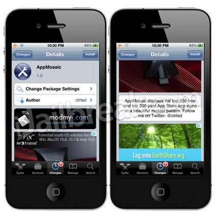 AppMosaic Cydia Tweak