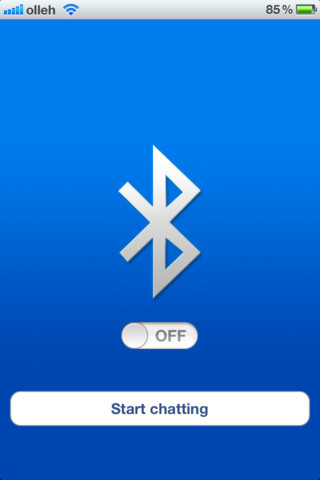 Bluetooth OnOff. App