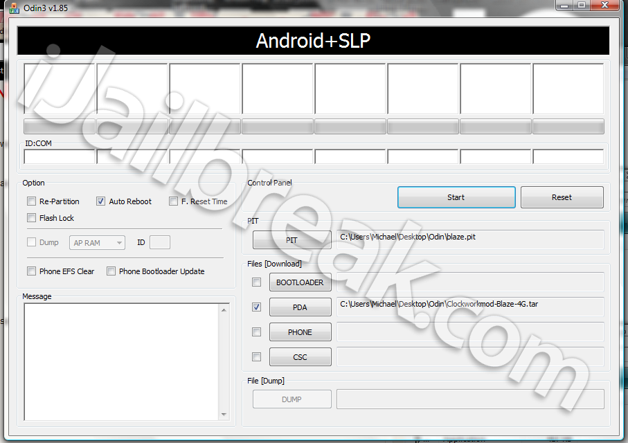 Install Clockworkmod On Samsung Blaze 4G