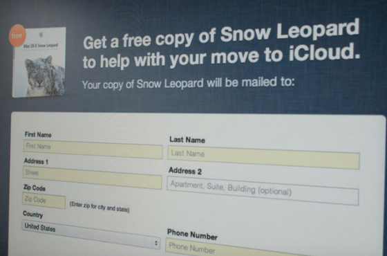 Apple Is Giving Free Snow Leopard Copies To MobileMe Users