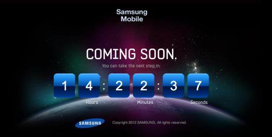 Samsung Galaxy S III Countdown Timer