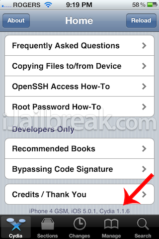 cydia 1.1.6 update how to